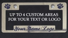 Custom Plate Frame Design Options