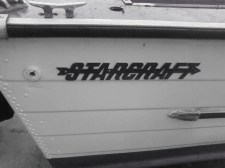 StarCraft Emblems on Boat